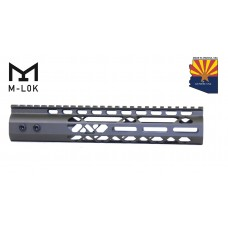 "10"" AIR LITE M-LOK FREE FLOATING HANDGUARD WITH MONOLITHIC TOP RAIL (OD GREEN)"