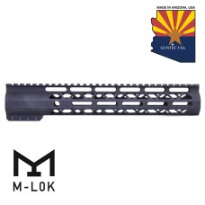 "12"" AIR-LOK SERIES M-LOK COMPRESSION FREE FLOATING HANDGUARD WITH MONOLITHIC TOP RAIL"