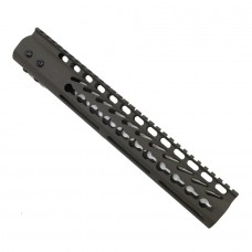"12"" ULTRA LIGHTWEIGHT THIN KEY MOD FREE FLOATING HANDGUARD WITH MONOLITHIC TOP RAIL (OD GREEN)"