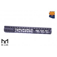 "15"" AIR LITE SERIES M-LOK FREE FLOATING HANDGUARD WITH MONOLITHIC TOP RAIL"
