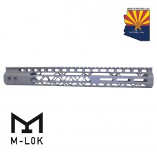 "15"" AIR LITE SERIES M-LOK FREE FLOATING HANDGUARD WITH MONOLITHIC TOP RAIL (OD GREEN)"