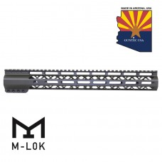 "15"" AIR-LOK SERIES M-LOK COMPRESSION FREE FLOATING HANDGUARD WITH MONOLITHIC TOP RAIL (OD GREEN)"