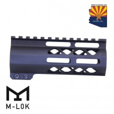 """5"""" AIR-LOK SERIES M-LOK COMPRESSION FREE FLOATING HANDGUARD WITH MONOLITHIC TOP RAIL"""