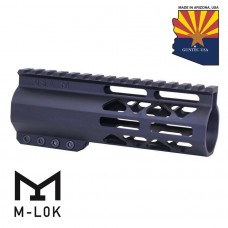 """6"""" AIR-LOK SERIES M-LOK COMPRESSION FREE FLOATING HANDGUARD WITH MONOLITHIC TOP RAIL"""
