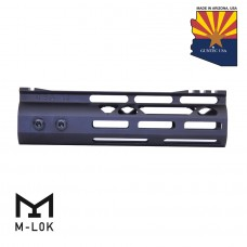 "7"" MOD LITE SKELETONIZED SERIES M-LOK FREE FLOATING HANDGUARD WITH MONOLITHIC TOP RAIL"