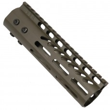 "7"" ULTRA LIGHTWEIGHT THIN M-LOK FREE FLOATING HANDGUARD WITH MONOLITHIC TOP RAIL (OD GREEN)"