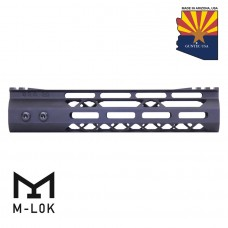"9"" MOD LITE SKELETONIZED SERIES M-LOK FREE FLOATING HANDGUARD WITH MONOLITHIC TOP RAIL"