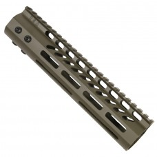 """9"""" ULTRA LIGHTWEIGHT THIN M-LOK SYSTEM FREE FLOATING HANDGUARD WITH MONOLITHIC TOP RAIL (OD GREEN)"""