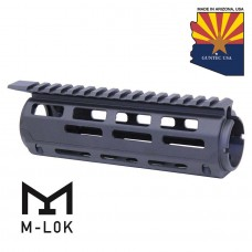 "AR-15 7"" ALUMINUM CARBINE LENGTH DROP IN M-LOK FREE FLOATING HANDGUARD WITH MONOLITHIC TOP RAIL"