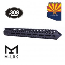 "15"" ""TRIDENT"" SERIES ULTRA LIGHTWEIGHT THIN M-LOK FREE FLOATING HANDGUARD (.308 CAL)"