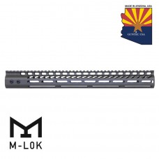 "16.5"" ULTRA LIGHTWEIGHT THIN M-LOK FREE FLOATING HANDGUARD WITH MONOLITHIC TOP RAIL (OD GREEN)"
