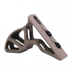 AIRLITE SERIES ANGLED ALUMINUM GRIP FOR KEYMOD SYSTEM (FLAT DARK EARTH)
