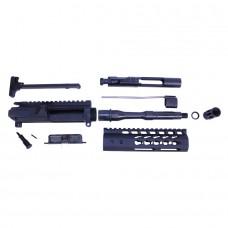 AR-15 5.56 CAL COMPLETE UPPER KIT (PISTOL LENGTH) (ULTRALIGHT KEYMOD HG)