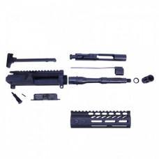 AR-15 5.56 CAL COMPLETE UPPER KIT (PISTOL LENGTH) (ULTRALIGHT M-LOK HG)