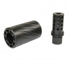 AR 300 BLACKOUT MUZZLE COMP WITH QD BLAST SHIELD