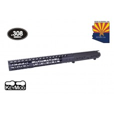 "AR .308 CAL AIRLITE SERIES STRIPPED BILLET UPPER RECEIVER & 15"" AIR LITE SERIES KEYMOD HANDGUARD COMBO SET"