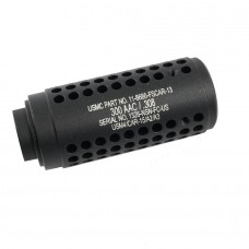 AR .308 GEN 2 MICRO REVERSE THREAD SLIP OVER SOCOM STYLE FAKE SUPPRESSOR