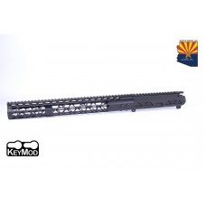 "AR15 AIRLITE SERIES STRIPPED BILLET UPPER RECEIVER & 15"" AIR LITE SERIES KEYMOD HANDGUARD COMBO SET"