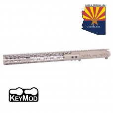 "AR15 AIRLITE SERIES STRIPPED BILLET UPPER RECEIVER & 15"" AIR LITE SERIES KEYMOD HANDGUARD COMBO SET (FLAT DARK EARTH)"