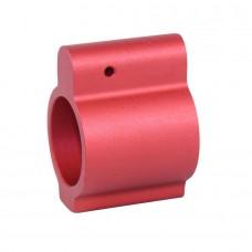 AR15 ALUMINUM LOW PROFILE .750 GAS BLOCK (RED)