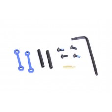 AR15 COMPLETE ANTI-ROTATION TRIGGER/HAMMER PIN SET (BLUE)