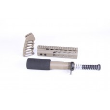 AR15 PISTOL FURNITURE SET (FLAT DARK EARTH)