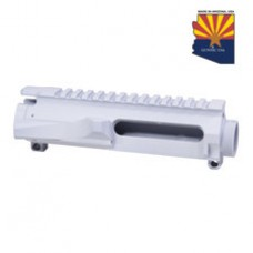 AR15 STRIPPED BILLET UPPER RECEIVER (ARTIC WHITE)