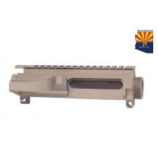 AR15 STRIPPED BILLET UPPER RECEIVER (BURNT BRONZE)