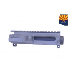 AR15 STRIPPED BILLET UPPER RECEIVER (SNIPER GREY)