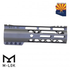 "GEN 2 7"" AIR-LOK SERIES M-LOK COMPRESSION FREE FLOATING HANDGUARD WITH MONOLITHIC TOP RAIL (OD GREEN)"