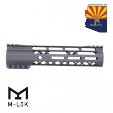 """GEN 2 9"""" AIR-LOK SERIES M-LOK COMPRESSION FREE FLOATING HANDGUARD WITH MONOLITHIC TOP RAIL (OD GREEN)"""