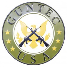 "GUNTEC USA RETRO ""GARAGE STYLE"" METAL SIGN"