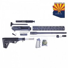 AR .308 CAL COMPLETE RIFLE KIT COMBO #6 (NO LOWER) (SNIPER GREY)