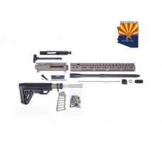 AR-15 5.56 CAL COMPLETE RIFLE KIT #2 (NO LOWER) (FLAT DARK EARTH)