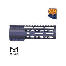 "6.75"" AIR-LOK SERIES M-LOK COMPRESSION FREE FLOATING HANDGUARD WITH MONOLITHIC TOP RAIL"
