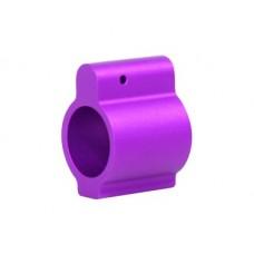 AR15 ALUMINUM LOW PROFILE .750 GAS BLOCK (PURPLE)